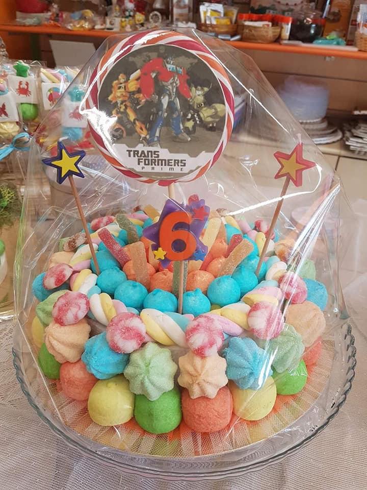 torte di caramelle per eventi e feste Albero delle Caramelle Torino Parella