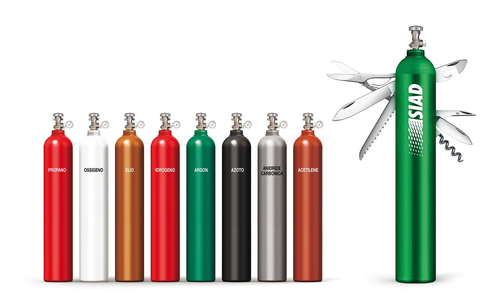SERVIZI FORNITURA GAS INDUSTRIALI MODENA
