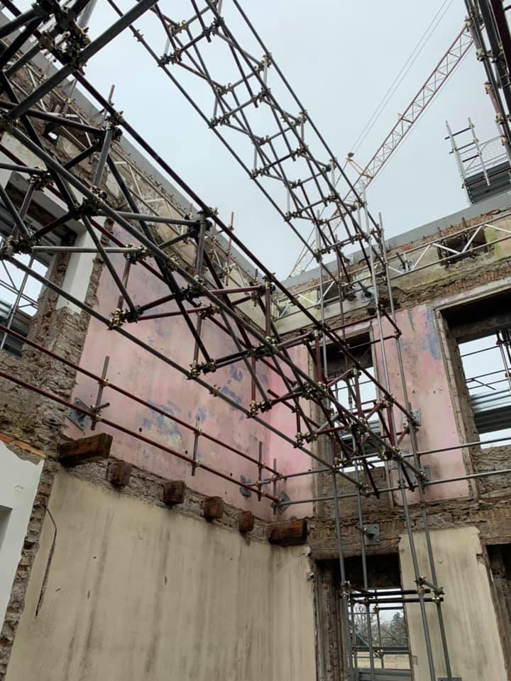Ponteggi edili e industriali GO