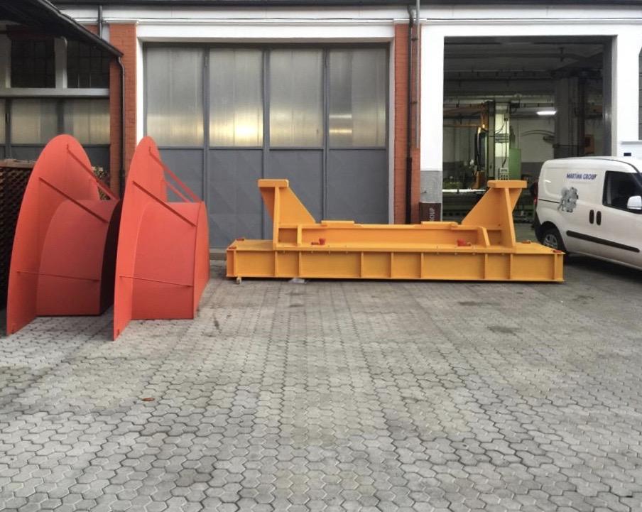 Carpenteria meccanica Martina Group Susa Torino