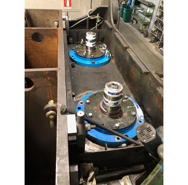 Manutenzione revisioni e montaggi industriali Martina Group Susa Torino