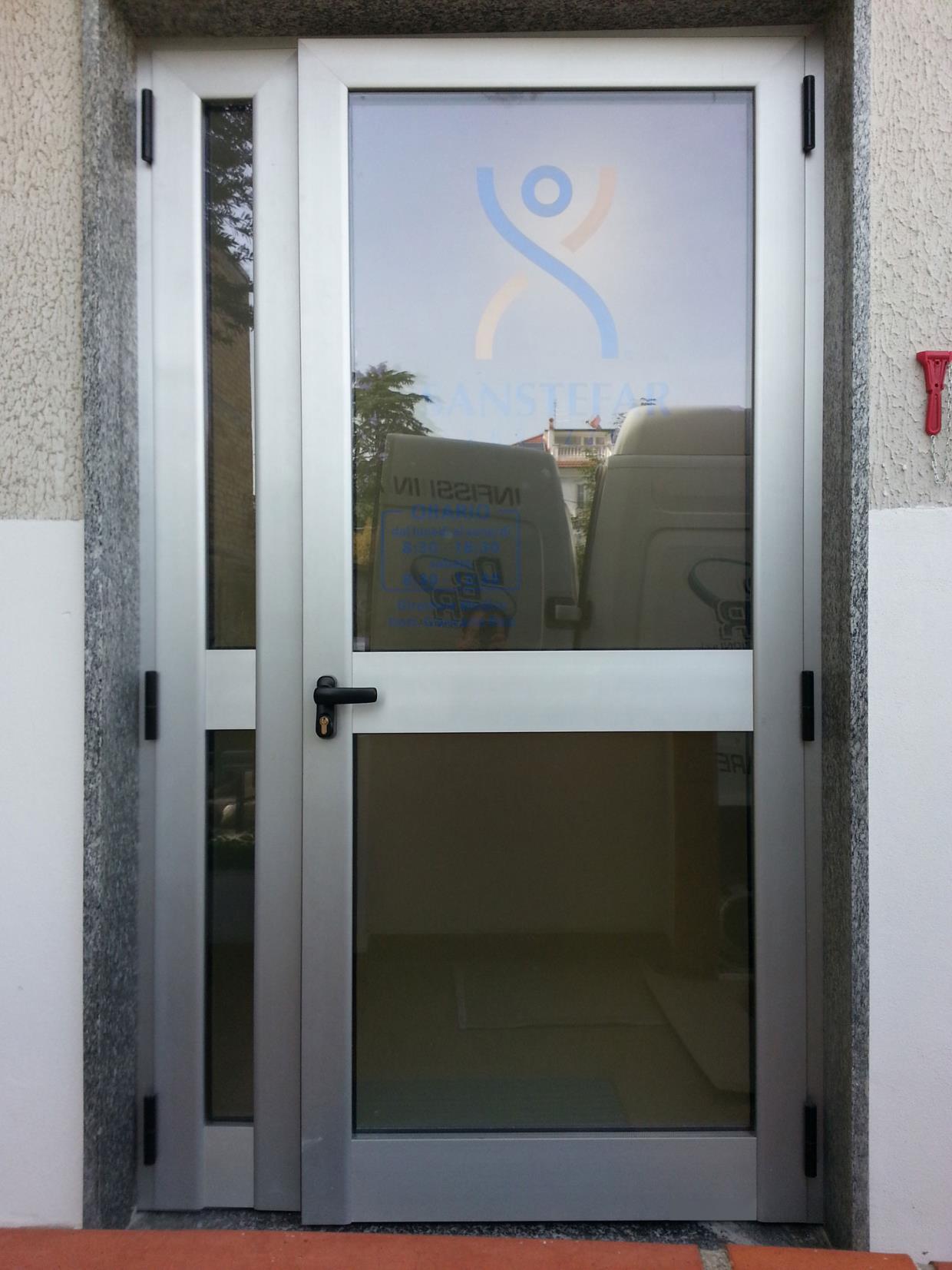 Porte e finestre a taglio termico R. Generation