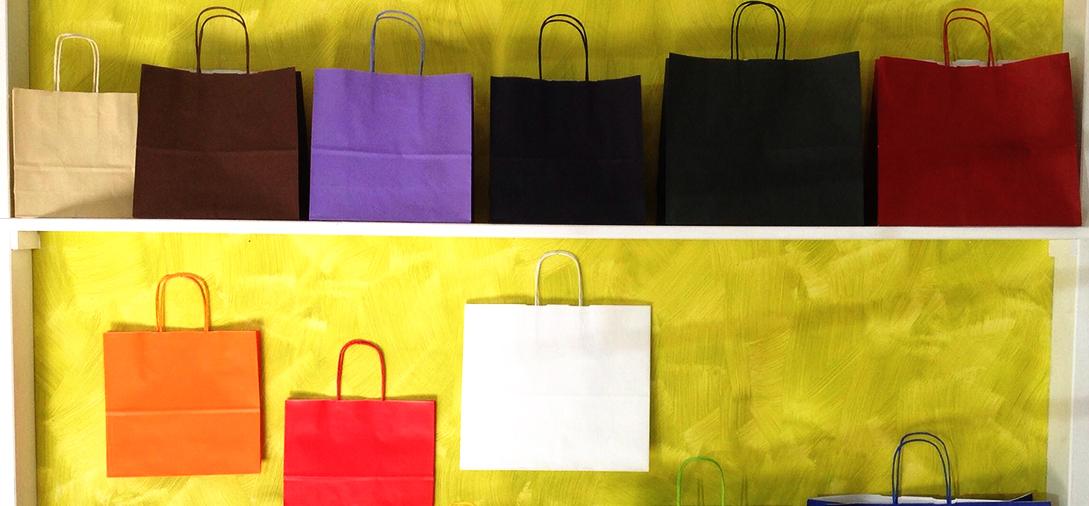 Sacchettificio ed etichettificio Fraccalvieri Vincenzo Sacchetti di carta colorati