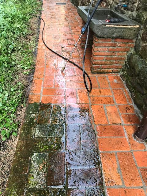 Restauro pavimento esterno in cotto Scricciolo