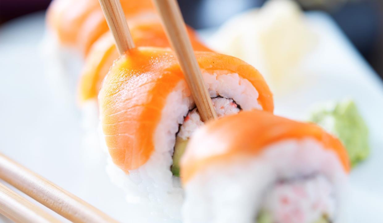 Sushi al salmone Chan Sushi Bar