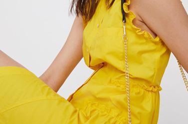 Tuta donna gialla