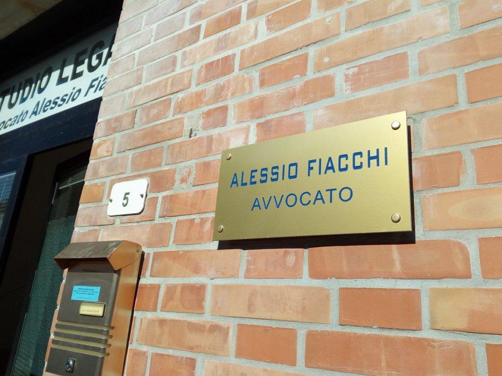 Servizi di assistenza e rappresentanza legale Studio Legale Alessio Fiacchi