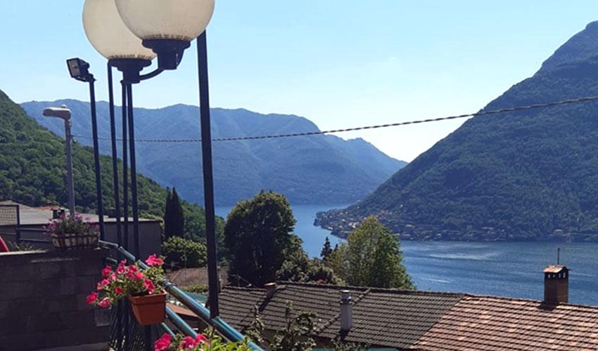 ristorante terrazza vista lago