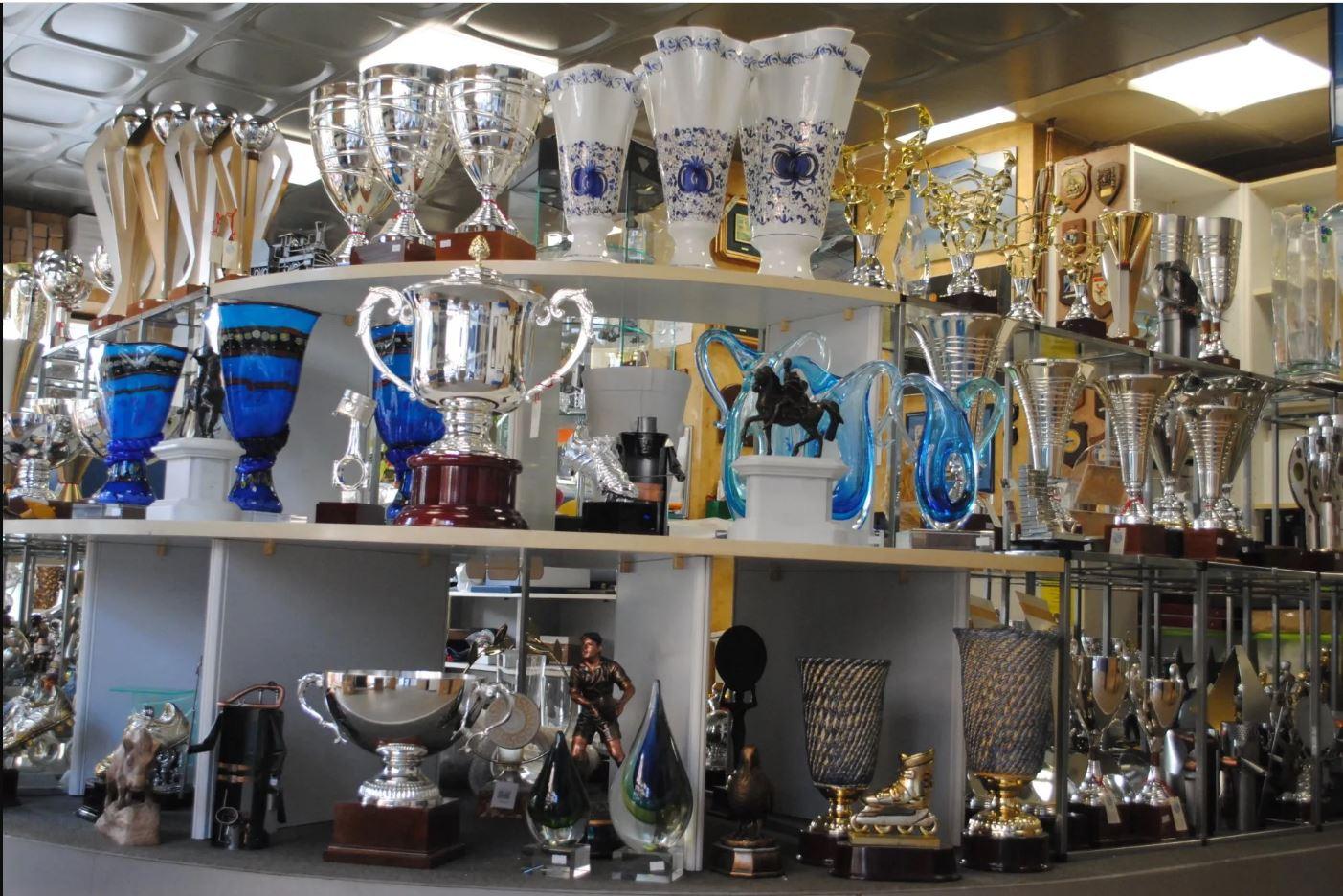 Trofei, coppe e medaglie