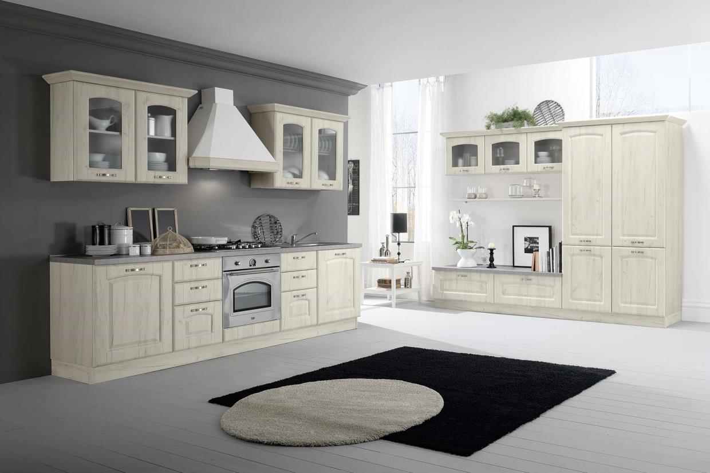 cucina classica sofia bianco rustico