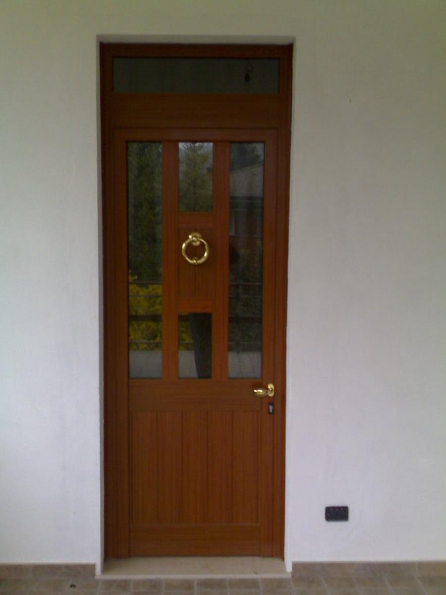 porta per entrare blindata