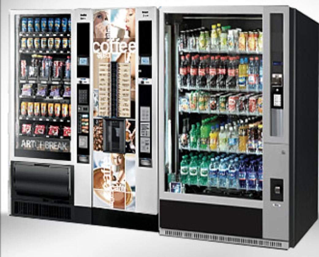 distributori automatici di alimenti e caffè