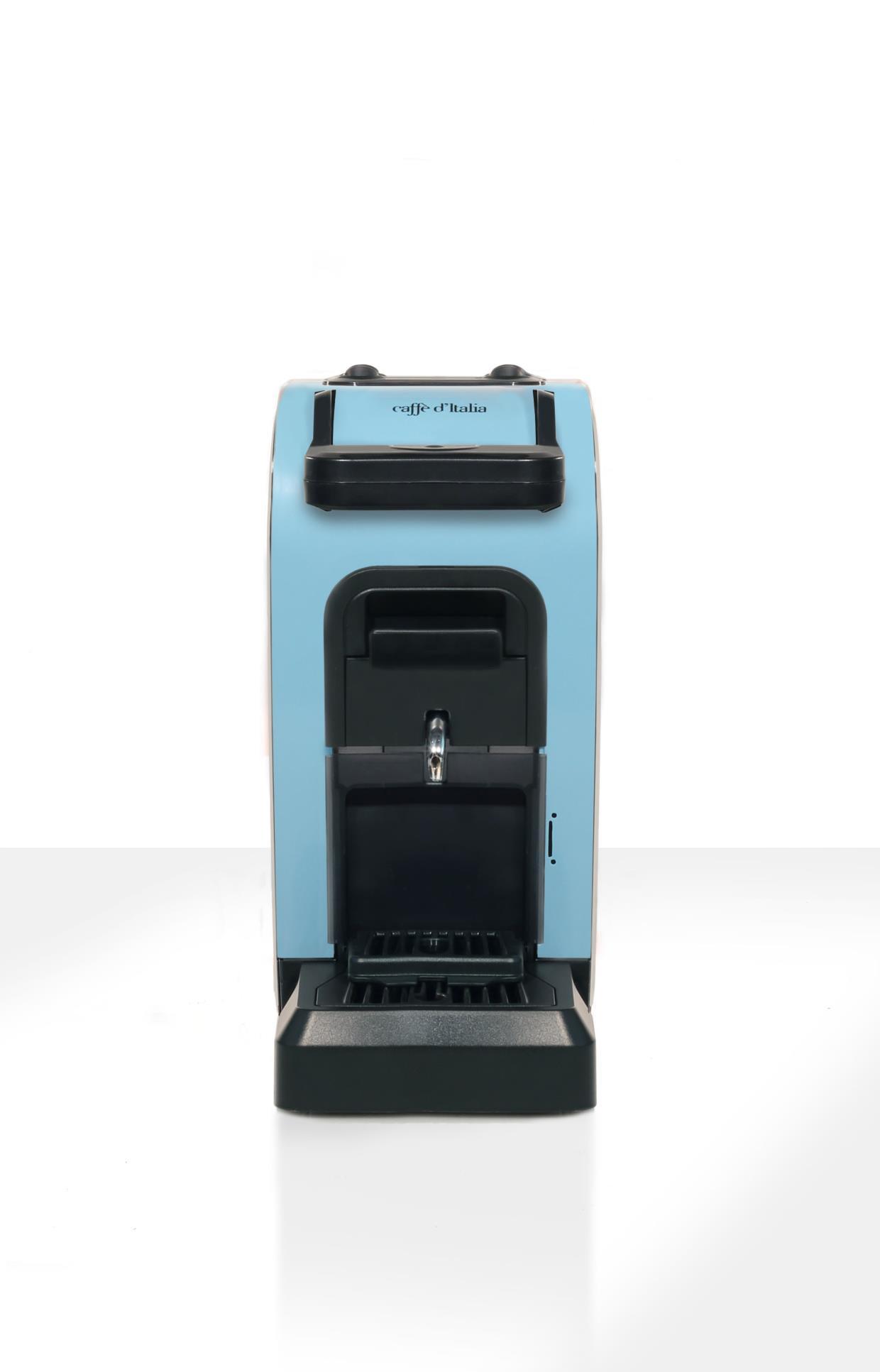 macchina da caffè birba azzurro
