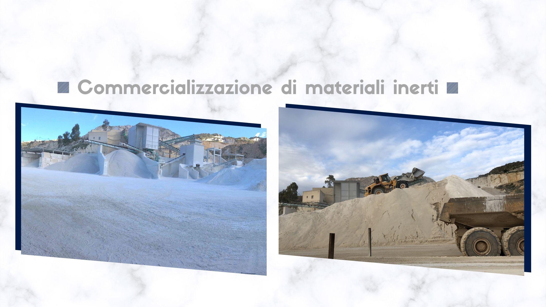 commercializzazione di materiali inerti pellegrino inerti custonaci