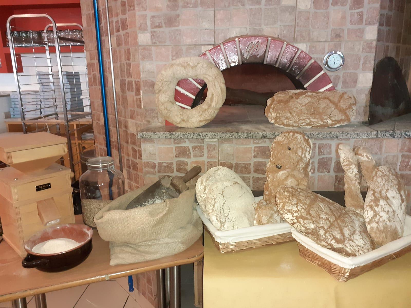 pizza con farine di grani antichi terni