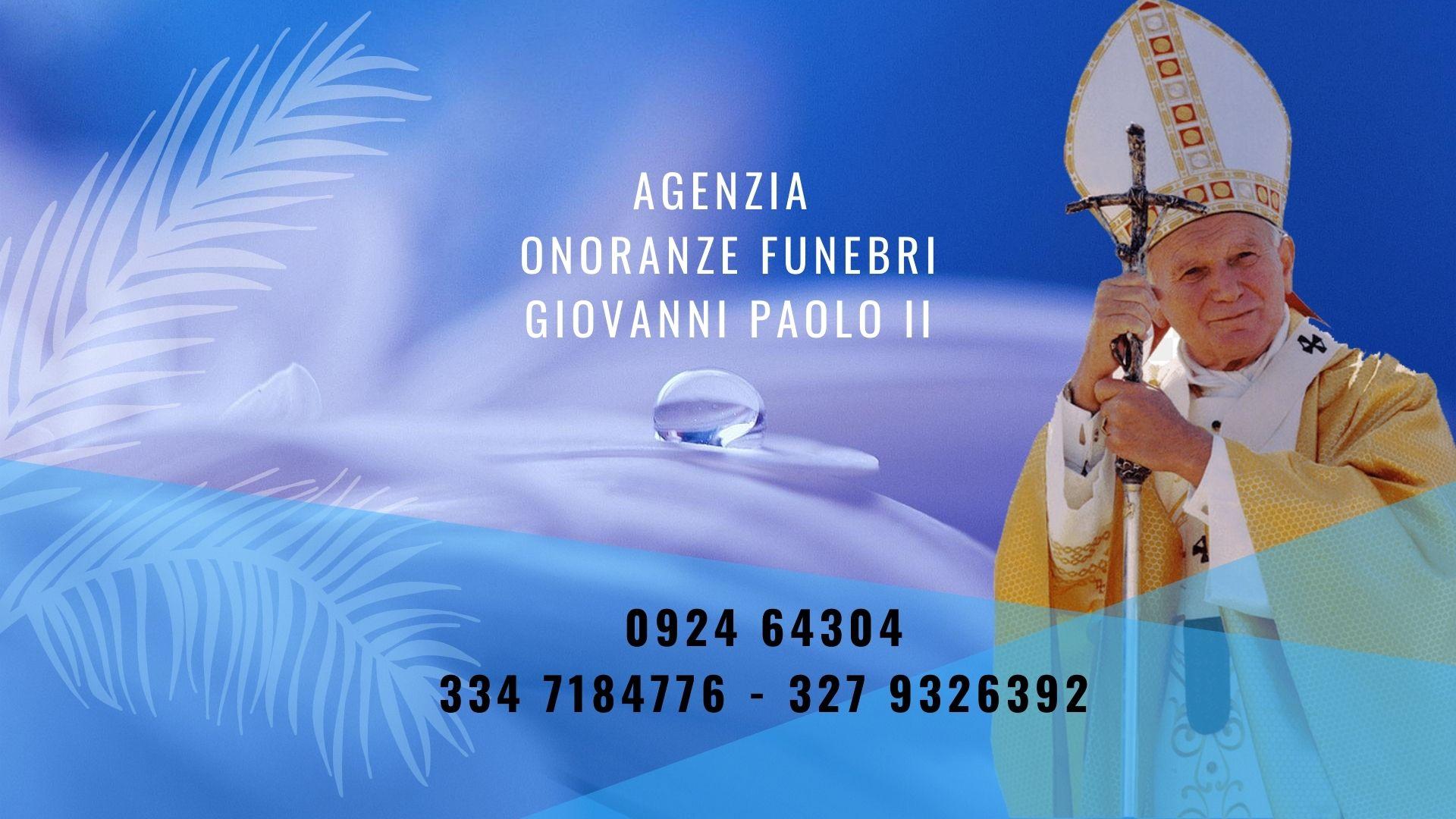 agenzia onoranze funebri giovanni paolo II salemi