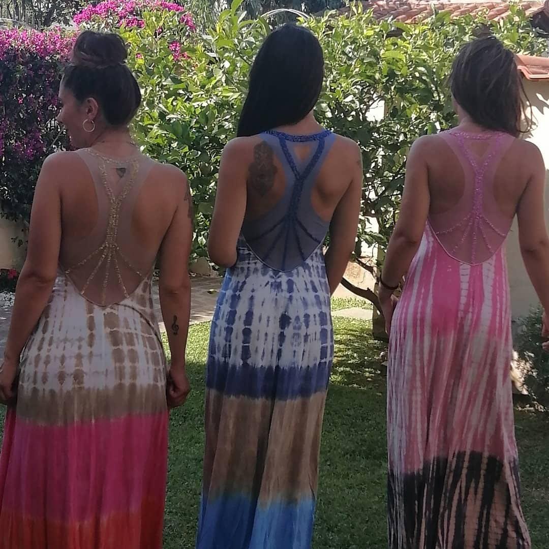 Vestiti batik fatti a mano