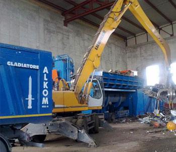 Recupero e commercio rottami metallici e rifiuti a Verona - Vecchini S.r.l. di Legnago (VR)