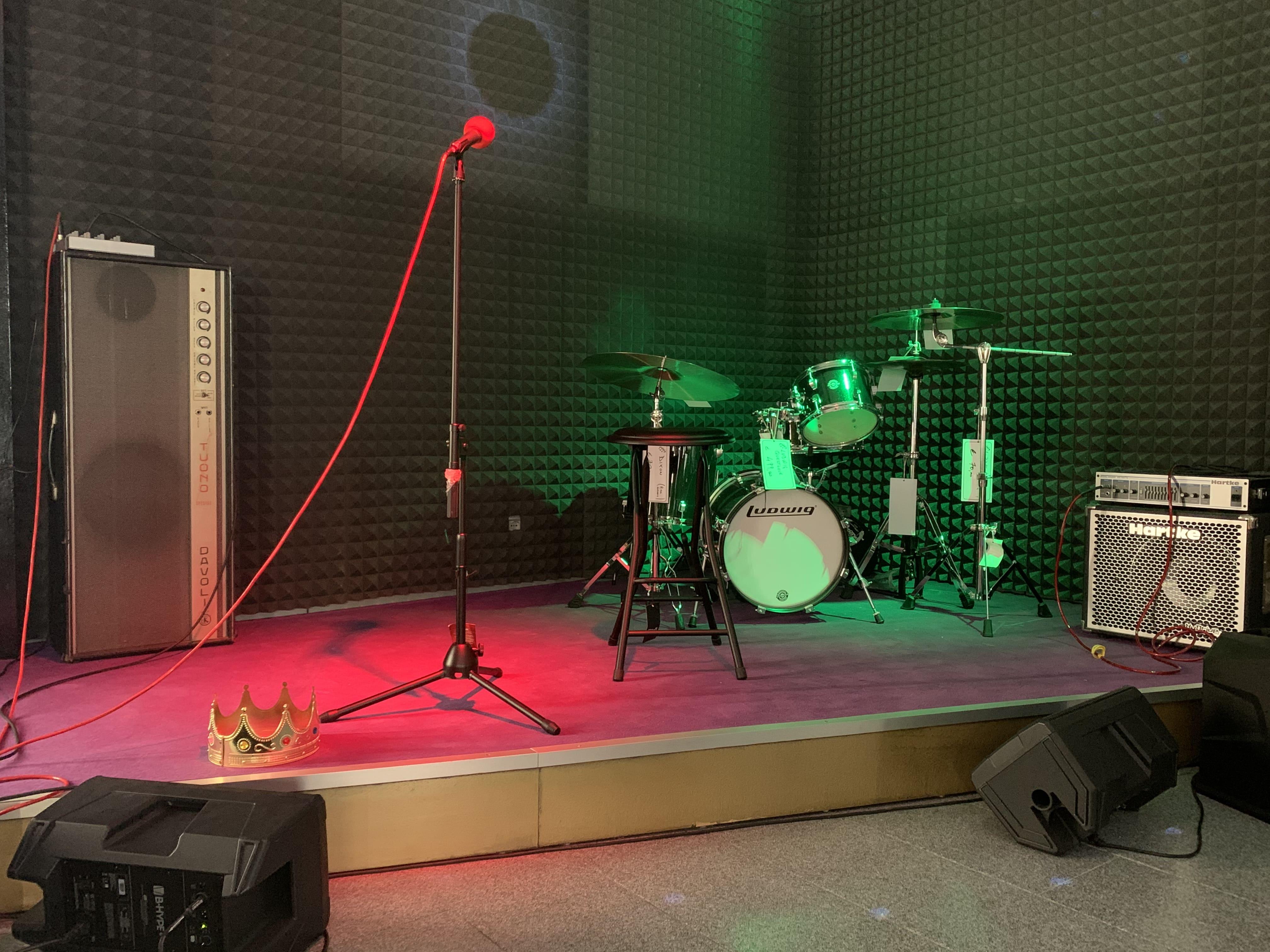palco musicale terni