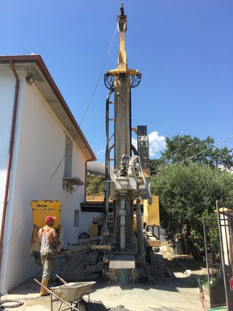 scavi geotermia