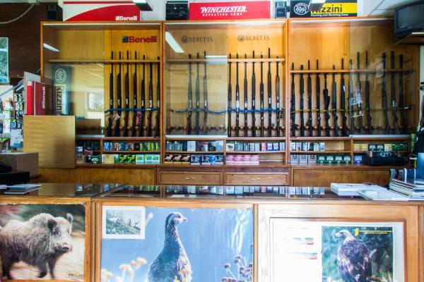 negozio armi Nuoro