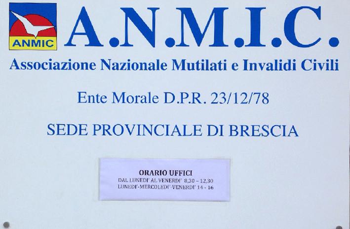 Contatti A.N.M.I.C. Brescia