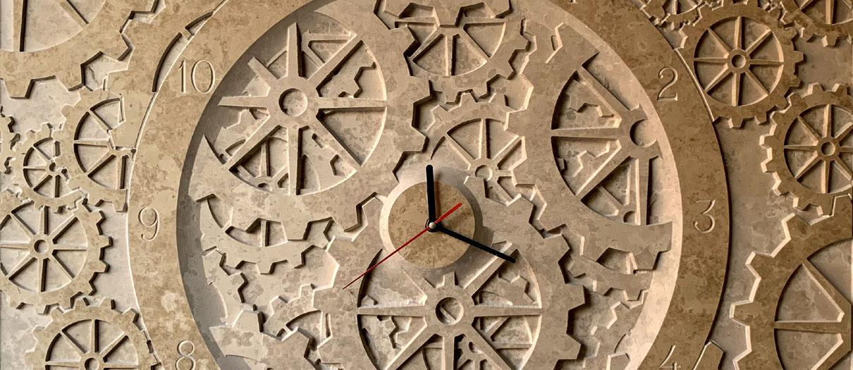 Orologi in marmo personalizzati