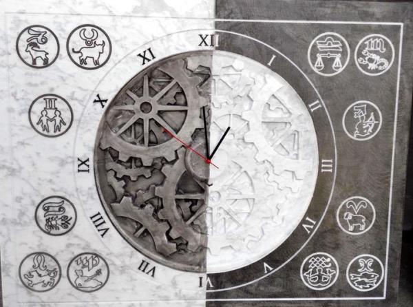 orologi da parete granito bs