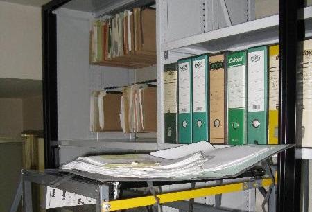 Consultazione di archivi a udine