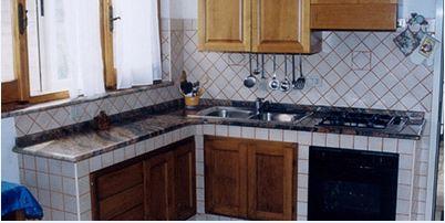 top cucina in marmo La Spezia