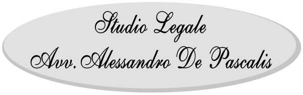Studio Legale Avv. Alessandro De Pascalis