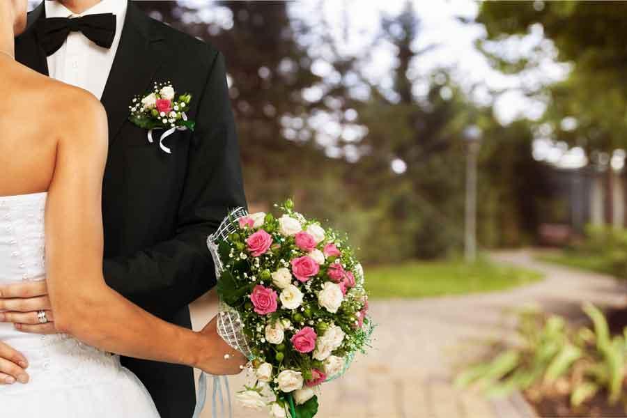 bouquet sposi Camaiore