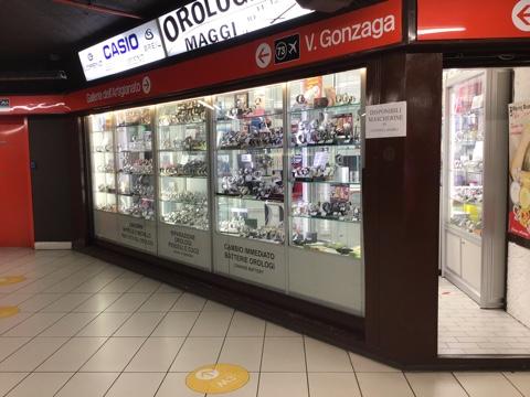 vendita orologi Milano centro