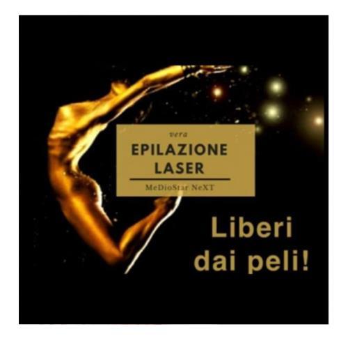 Epilazione laser mirano