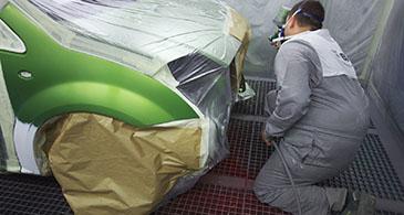 Pitturazione carrozzerie a La Spezia