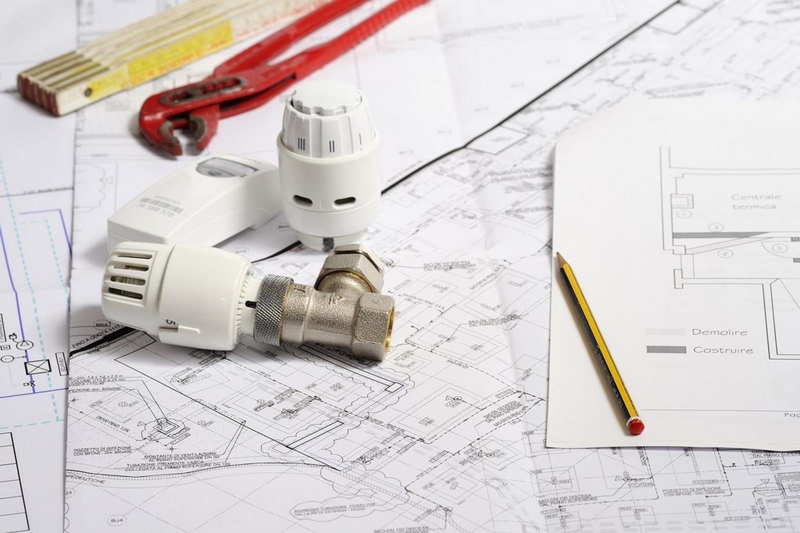 Progettazione impianti idrotermici