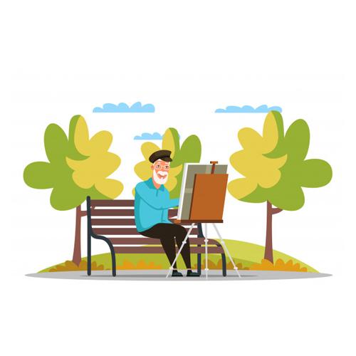giardino esterno casa di riposo