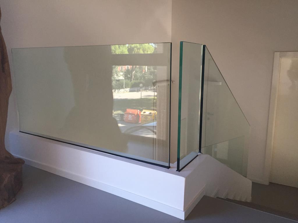 parapetti in vetro porzio