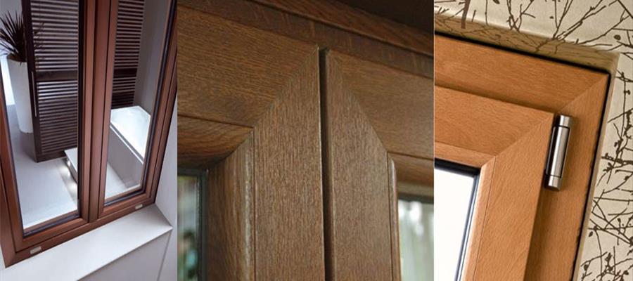 Alluminio, alluminio-legno e PVC