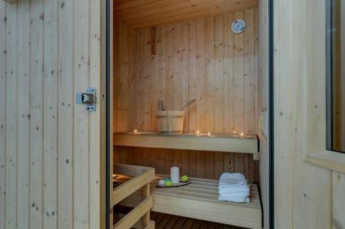 sauna finlandese casal di principe