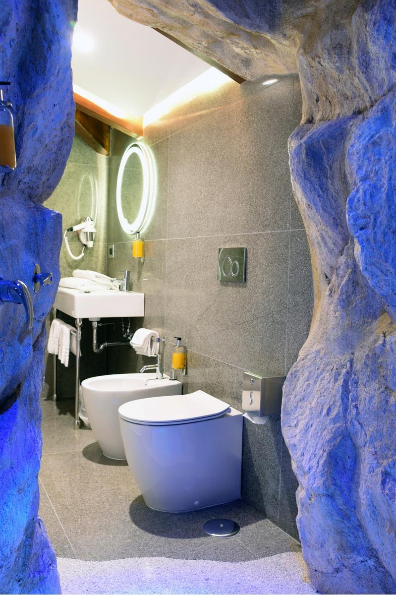 camera di lusso con bagno