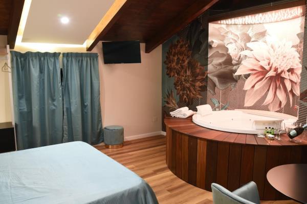camera di lusso in albergo