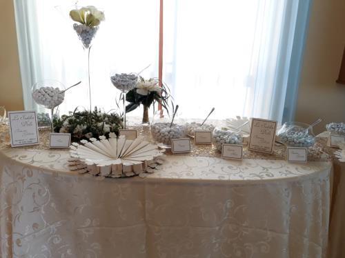 Particolare sala matrimoni