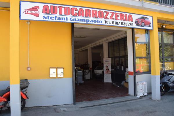 Misurazione elettronica danno carrozzeria Santo Stefano di Magra La Spezia