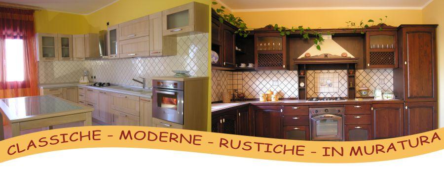 Cucine classiche - moderne - rustiche - in muratura