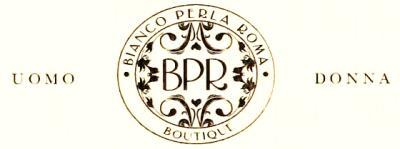 logo bianco perla roma abbigliamento donna uomo