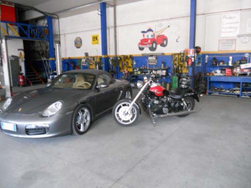 Riparazione auto e moto