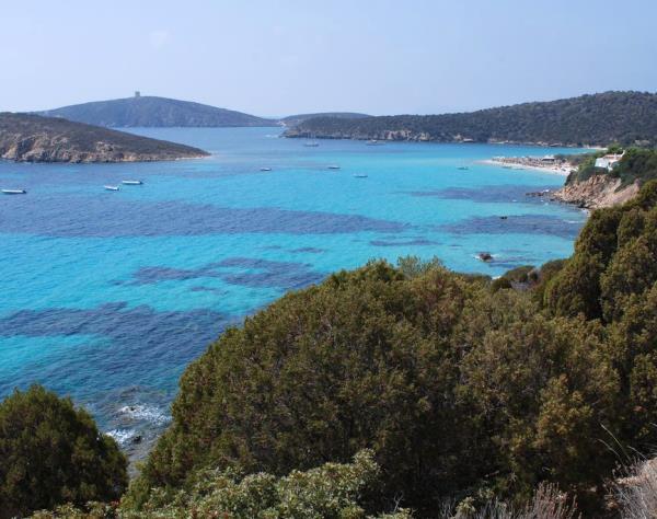 barca a vela - Costa Sud Sardegna