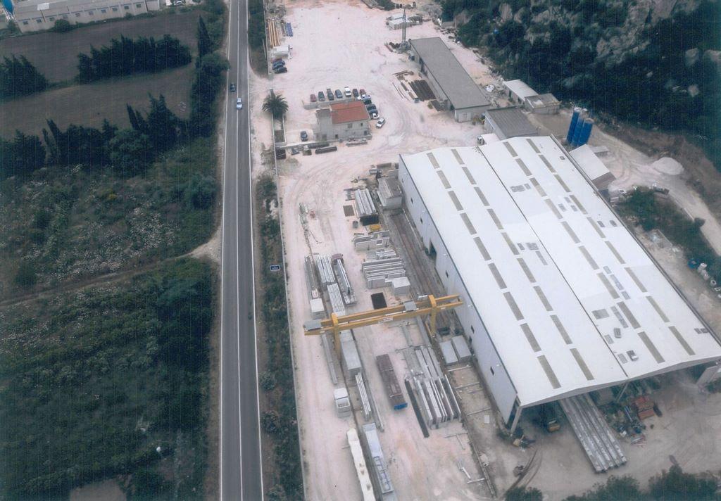 prefabbricato in cemento
