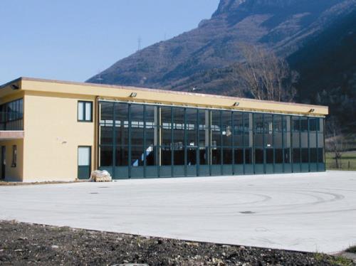 Prodotti industriali alluminio vetrati